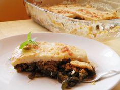 Mis pinitos de cocina: Musaka de Cristina Galiano (Thermomix)