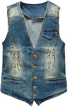 Etecredpow Men Multi Pocket Sleeveless Quilted Stylish Zip Cargo Jacket Down Vest