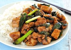 Pin for Later: Asian Dinners That a Busy Beginner Cook Can Master Thai Chili Basil Chicken Stir-Fry Get the recipe: Thai chili basil chicken stir-fry Stir Fry Recipes, Cooking Recipes, Quick Recipes, Thai Basil Chicken, Cilantro Chicken, Mango Chicken, Balsamic Chicken, Chicken Chili, Butter Chicken