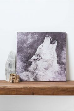Shop and explore unique and one-of-a-kind wall art and wall decor like mirrors, evil eyes, and bamboo curtains. Wolf Canvas, Canvas Art, Canvas Ideas, Wall Decor, Wall Art, Room Decor, Wolf Howling, My New Room, Teen Wolf