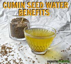 Health Benefits Of Cumin, Ginger Benefits, Tea Benefits, Cumin Water Benefits, Water Recipes, Spicy Recipes, Drink Recipes, Smoothie Recipes, Healthy Recipes