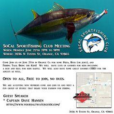 Socal Sportfishing Club Meeting