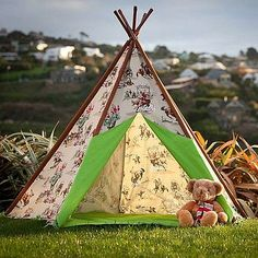 Cowboys And Indians Wigwam