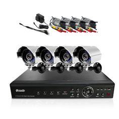 Camera Surveillance System, Wireless Security Camera System, Cctv Surveillance, Security Surveillance, Digital Video Recorder, Camera Equipment, 4 Channel, Up And Running, Indoor Outdoor