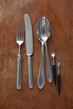 Granmother's tableware from except little forks from