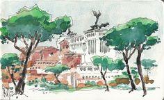 Rome: via dei fori imperiali