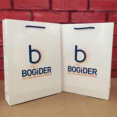@bogider14 Bolu Genç Girişimciler Derneği karton poşetleri organizasyonlar için hazırlandı.  #kartonçanta #printedbags #reklamposeti #istanbul #turkey #paperbags #craftbags
