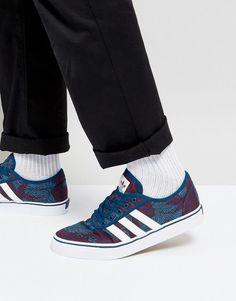 wholesale dealer 48ec9 29966 adidas Skateboarding Adi-Ease Sneakers BY4035 - Blue Mode, Baskets Bleu  Marine, Chaussures
