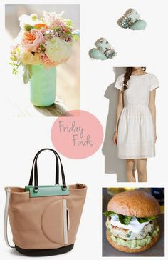 Friday Finds! Spring inspired with a hint of mint! Madewell//J. Crew//Marc by Marc Jacobs