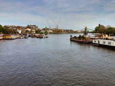Río Támesis (Thames River) - West London, Londres, Reino Unido (West London, London, UK) - iPhone 4S & Camera+ Copyright © Juan Hernandez Orea