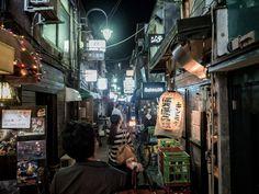 Outside of La Jetee's surroundings | 21 Cozy Photos From Tokyo's Hidden Bars