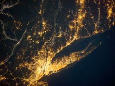 The NASA Earth Observatory captures unbelievable photos that show just how electric our world really is. Earth At Night, Light And Space, Earth From Space, Life Is An Adventure, Our World, City Lights, Nasa, The Incredibles, Pictures