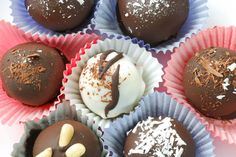 Looking for a delectable gift for someone special? Make your own Luscious Chocolate Truffles in multiple flavor combinations with this easy enticing recipe. Click on photo for recipe