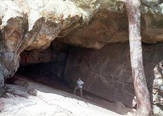 Robber's Cave. Hideout to famous outlaws such as Jesse James and Belle Starr. (distant relatives of mine)