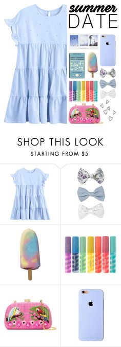 """""""👒🖖🏻."""" by parkmona ❤ liked on Polyvore featuring New Look, claire's, Serpui and Brinley Co"""