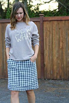 Sew What Sweatshirt #burdastyle #memberproject #diy #sew #sewing