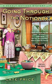 Deadly Notions Mysteries series by Cate Price