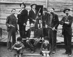 clan Hatfield 1890
