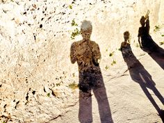 The Shadows out on holiday.