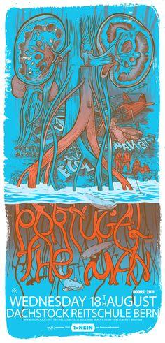 Portugal. The Man 2010 - Jared Illustrations