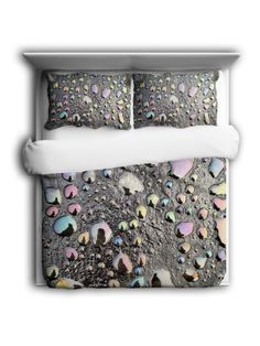 Oil Too by Tom Kendry - Duvet Cover