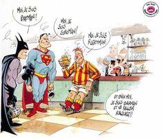 Batman...superman...