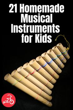 Start your family band by crafting some awesome homemade musical instruments. Most of these are super easy to make, and kids will have a blast banging on tin can drums, shaking DIY maracas and more. Keep reading to get the dance party started. Diy Kid Crafts For Boys, Diy Home Crafts, Kids Diy, Kids Crafts, Music Instruments Diy, Homemade Musical Instruments, Preschool Learning Activities, Preschool Crafts, Teaching Ideas