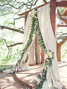 3 Ideas decoración ceremonia  boda