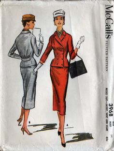 McCall's 3968: another cute suit