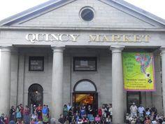 Quincy Market, Boston. <3