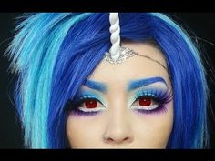 "My Little Pony ""Vinyl Scratch/Dj Pon3"" Makeup Cosplay"