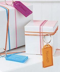Key Chain Gift Tag