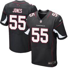 Nike Cardinals #55 Chandler Jones Black Alternate Men's Stitched NFL Elite Jersey