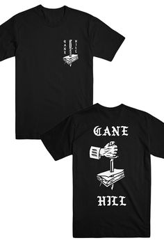 bf1550ee46a993 Cane Hill - Dagger Tee (Black) - Official Online Store on District Lines.