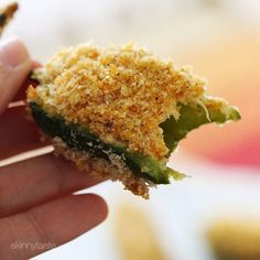 Spicy and addicting – these bite-sized Baked Buffalo Chicken Jalapeño Poppers make the perfect appetizer.