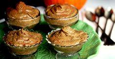 Almost Instant Pumpkin Pudding, ForksOverKnives (almond milk, pumpkin puree, banana, dates, pumpkin pie spice, chia seeds)  [Vegan]