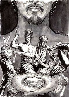 Zenoir Poster - Donald Jackson - Donald Jackson Art