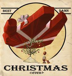 Best Damn Christmas Ever...  by Kevin R. Adams @ http://travistysbeard.blogspot.com