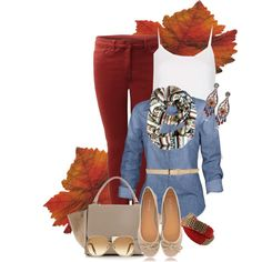 """""""Fall fashion"""" by peridotpixie on Polyvore"""