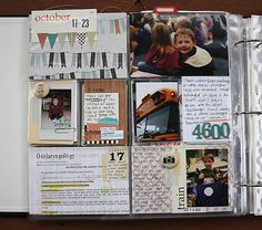 Jenni Hufford's got some great Project Life pages on her blog.