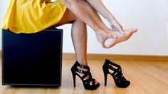 High heel damage: This is the most unsafe place to wear them