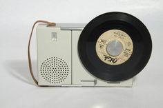 Braun TP1 portable 45 rpm record player, 1959