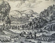 The Phillip Medhurst Picture Torah 151. Jacob removing the stone from the well. Genesis cap 29 v 10. Borcht