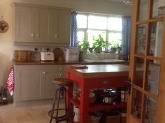 The kitchen now.