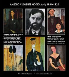 July 12 is the birth anniversary of Italian artist, Amedeo Modigliani, born in 1884. Modigliani worked mainly in France and was primarily a figurative artist. He became known for paintings and sculptures in a modern style characterized by mask-like faces and elongation of form.