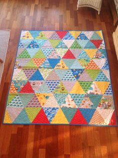 Boy quilt, Moda pattern and fabrics