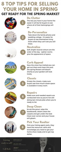"""Find out what you need to do to get """"show ready"""" if you're thinking of selling your home this Spring."""