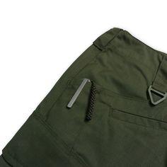 Odyssey Cargo Short 5050RS - Dark Leaf Green