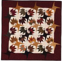 Martingale - At Home with Country Quilts (Print version + eBook bundle). Love! Great use of plaids.