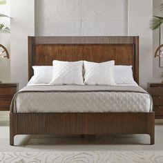 Beverly Glen Queen Panel Bed By Bernhardt